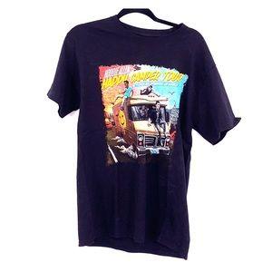 Hoodie Allen happy camper tour t shirt 2016 medium